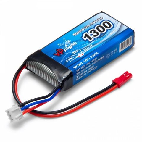 LiPo 1300mAh 2S 7,4V 30C (JST-RCY) (LP013F)