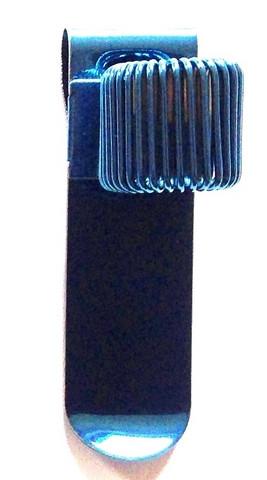 Kynänpidin, metallia, 1 kynälle (4601)