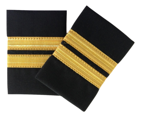 Epaulette, 2-Bar, Gold, pari (1490030)
