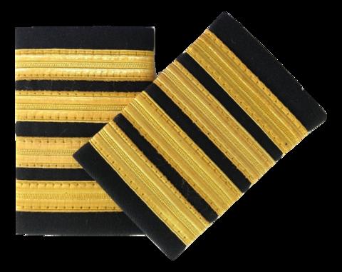 Epaulette, 4-Bar, Gold, pari (1490032)