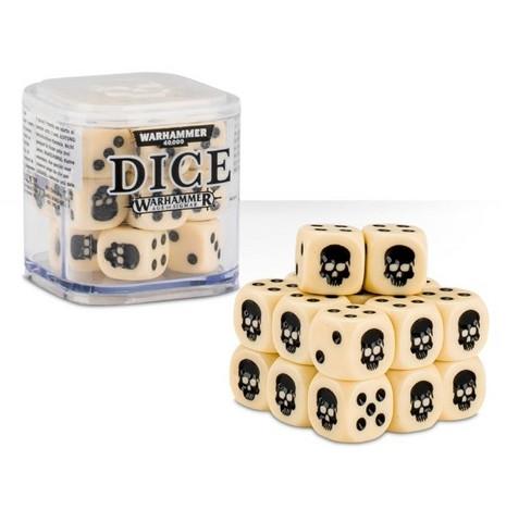 Dice Cube - Bone (65-36)