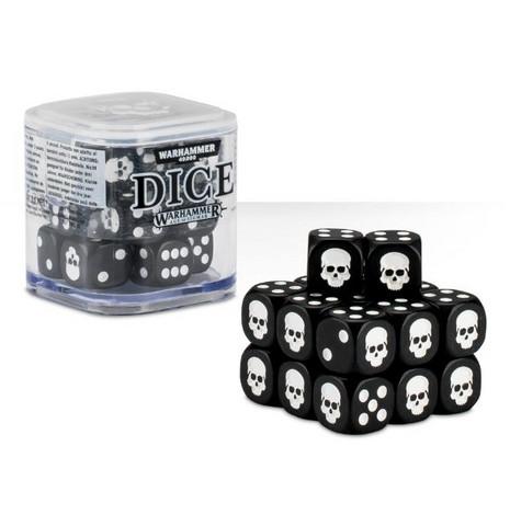 Dice Cube - Black (65-36)