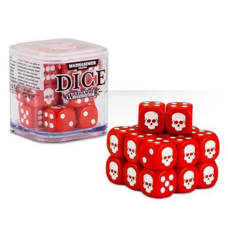Dice Cube - Red (65-36)