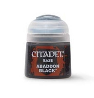 Abaddon Black (Base) 12 ml (21-25)