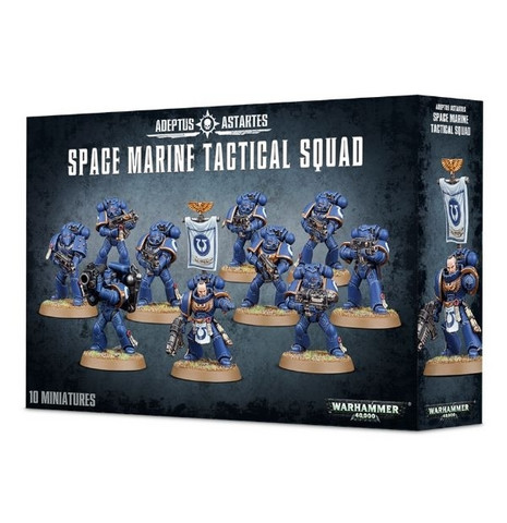 Space Marine Tactical Squad (48-07)