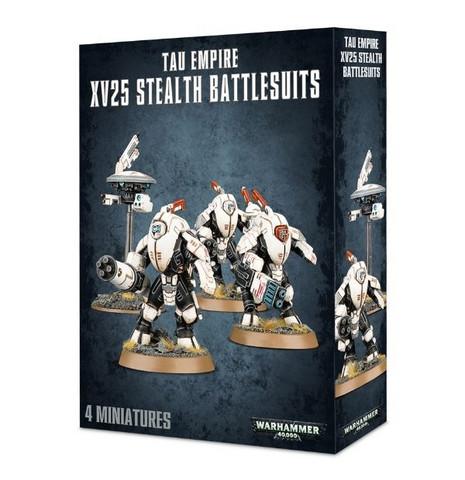 Tau Empire XV25 Stealth Battlesuits (56-14)