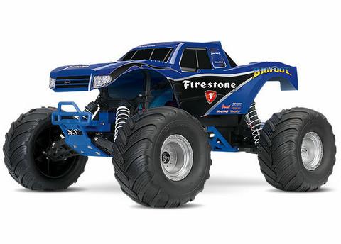 BIGFOOT 2WD 1/10 RTR TQ Sininen (36084-1BLUE)
