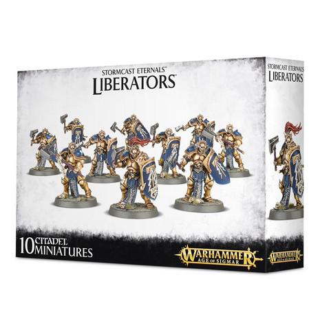 Stormcast Eternals Liberators (96-10)