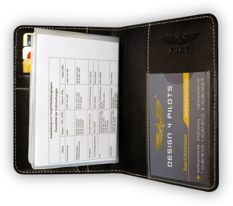 Pilot Licence Cover EASA