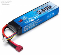 LiPo 3300mAh 3S 11,1V 25C (T-liitin) (LP033FD)