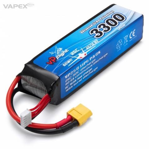 LiPo 3300mAh 4S 14,8V 25C (XT-60) (LP034FXT)