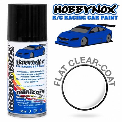 Flat Clear Coat R/C Racing Car Spray Paint 150 ml (HN1000)