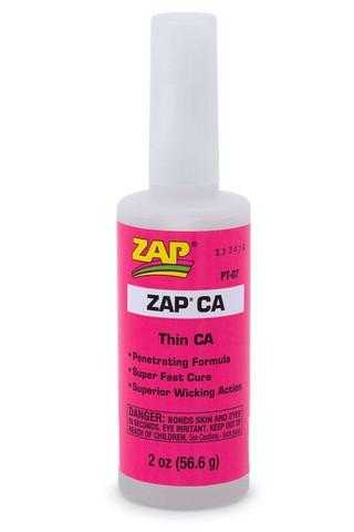 Pikaliima ZAP, Ohut, 56 g (Pinkki) (PT07)