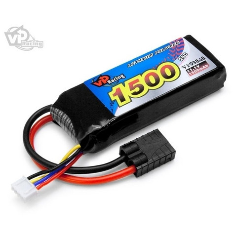LiPo 1500mAh 3S 11,1V 25C (TRX) (VP93848)