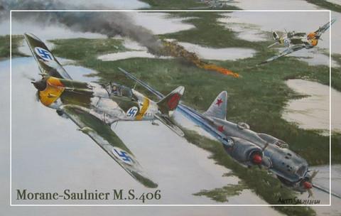 Turvalompakko Morane-Saulnier M.S.406