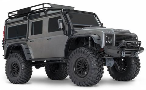 Traxxas TRX-4 Scale Crawler Land Rover Defender D 110 RTR Hopea (82056-4SLV)