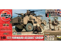 Airfix British Forces Forward Assault Group 1:48 Gift set