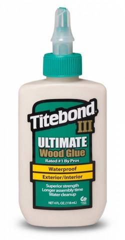 Titebond III Ultimate puuliima, vedenkestävä 118ml
