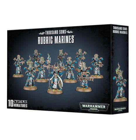 Thousand Sons Rubrik Marines (43-35)