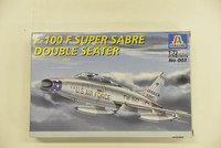 F-100 F Super Sabre Double Seater 1/72 (Italeri)