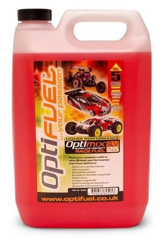 Optimix Fuel 25% Nitro ja 10% Klotz, 5 litraa