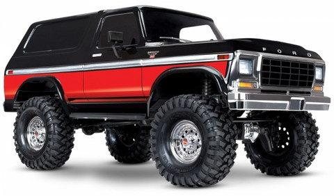 TRX-4 Ford Bronco Ranger XLT scale & trail crawler RTR, punainen (ei sis. akkua tai laturia) (82046-4RED)
