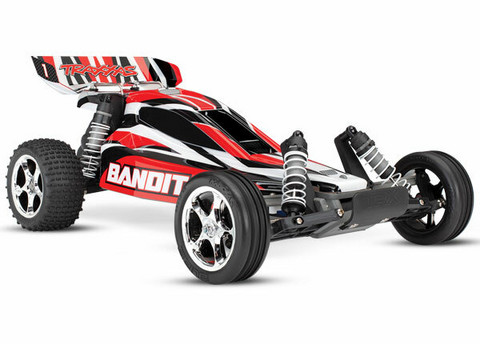 Bandit 2WD 1/10 RTR TQ Punainen (24054-1RED)
