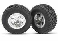 Rengas vanteella SCT/SCT 2WD eteen (2kpl) (5875)
