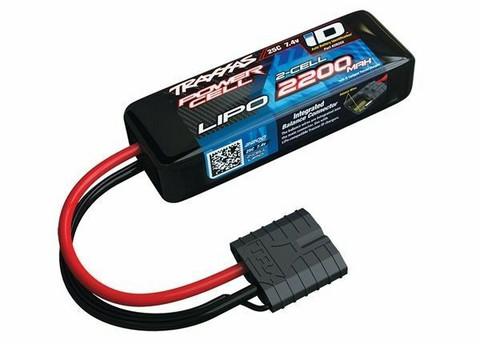 LiPo 2200mAh 2S 7,4V 25C (iD-liitin) (2820X)