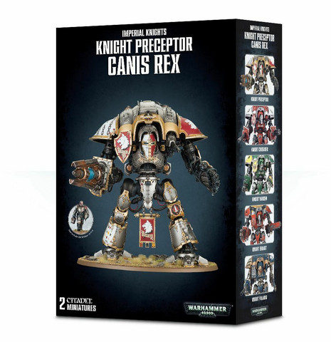 Imperial Knights Knight Preceptor Canis Rex (54-15)