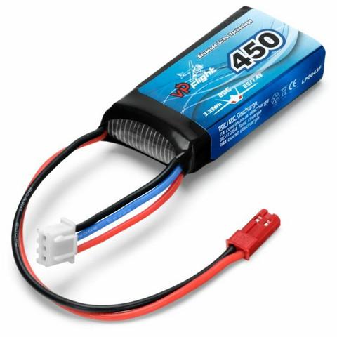 LiPo 450mAh 2S 7,4V 20C (JST-RCY) (LP0043F)