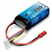 LiPo 450mAh 3S 11,1V 20C (JST-RCY) (LP0044F)