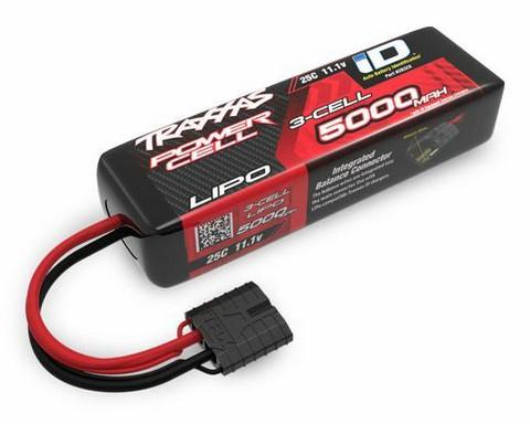 Traxxas 5000mAh Lipo 11,1V 25C iD Short (2832X)