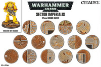 Sector Imperialis: 32 mm Round Bases (66-91)