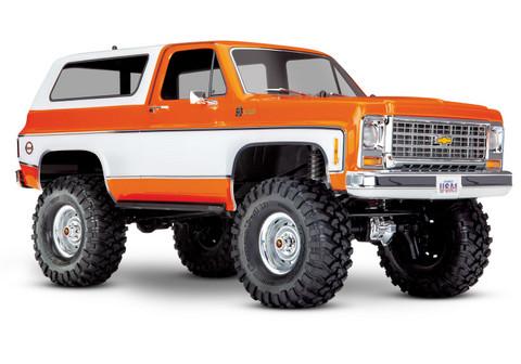 TRX-4 Chevy Blazer 1/10 Oranssi RTR (ei sis. akkua tai laturia) (82076-4ORNG)
