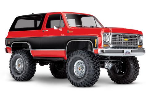 TRX-4 Chevy Blazer 1/10 Punainen RTR (ei sis. akkua tai laturia) (82076-4RED)