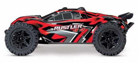 Rustler 4x4 XL-5 1/10 TSM RTR TQ Punainen (67064-1-RED)