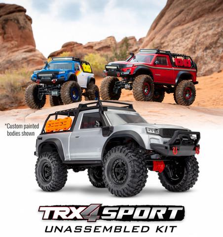 TRX-4 Sport Scale Crawler Truck 1/10 KIT (ei sis. elektroniikkaa) (ei sis. akkua/laturia) (82010-4)