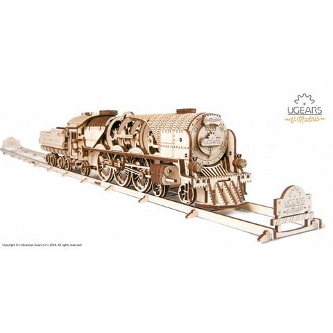 UGEARS V-Express höyryjuna ja tenderi