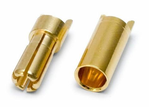 5,5mm liitin naaras / uros
