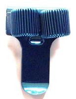 Kynänpidin, metallia, 2 kynälle (4602)