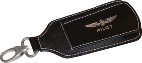 Pilot luggage tag