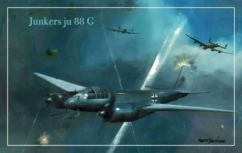 Turvalompakko Junkers Ju 88 G