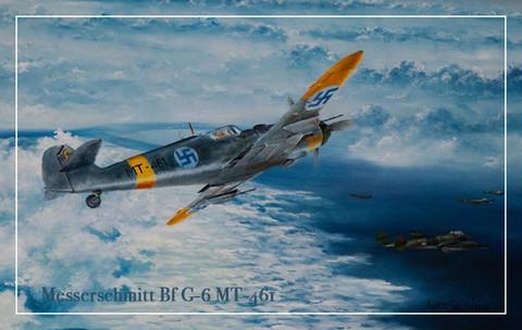 Turvalompakko Messerschmitt Bf G-6 MT-461