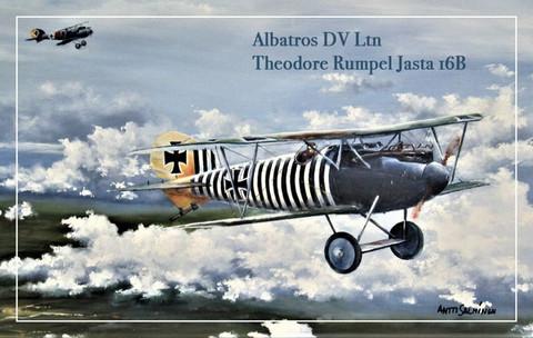 Turvalompakko Albatros DV