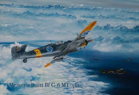 Magneetti Messerschmitt Bf G-6 MT-461