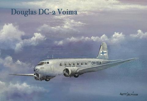 Magneetti Douglas DC-2 Voima