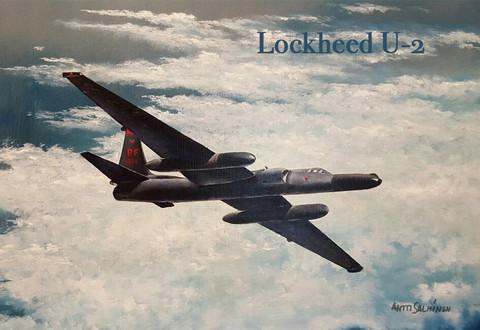 Magneetti Lockheed U-2