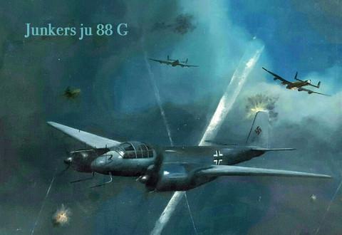Magneetti Junkers Ju 88 G
