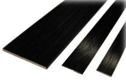 Hiilikuitulatta 0,5 × 3,0 mm (1 m)